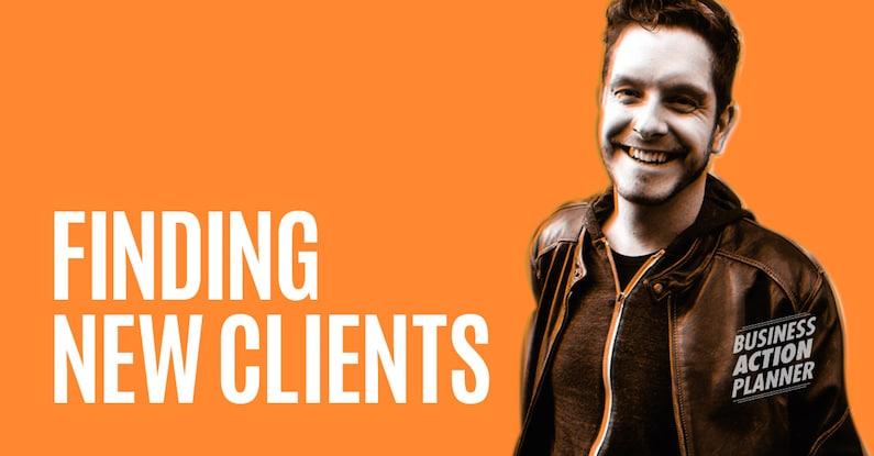 Corwin Hiebert - Finding New Clients - Business Action Planner