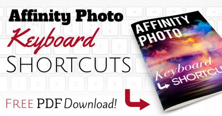 Free Download: Affinity Photo Keyboard Shortcuts (Simple List)