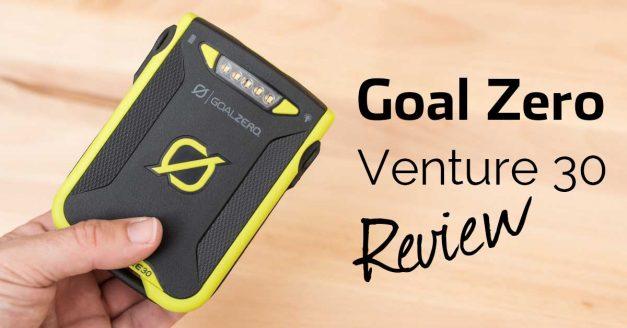 Goal Zero Venture 30 battery pack review