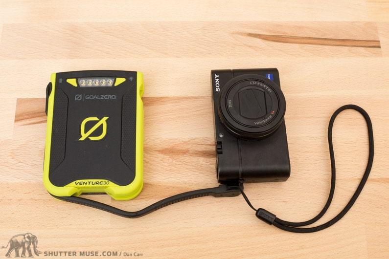 goal zero venture 30 charge camera