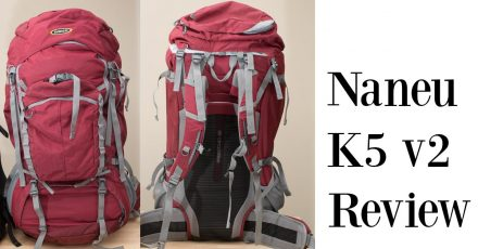Naneu K5 V2 80L adventure photography pack review