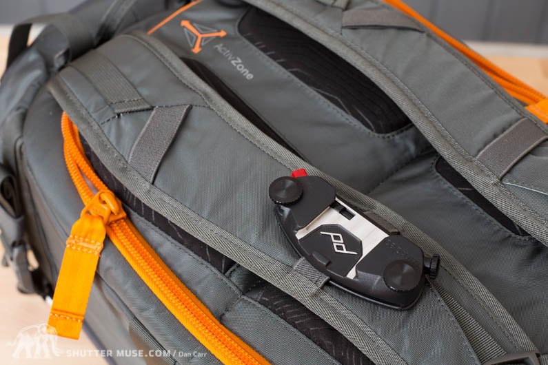 lowepro whistler shoulder straps
