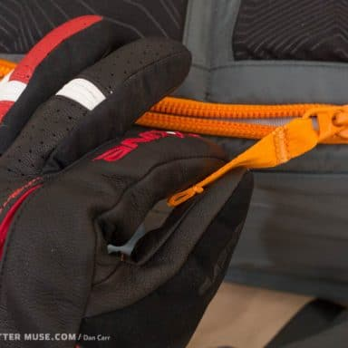 lowepro whistler zipper pulls