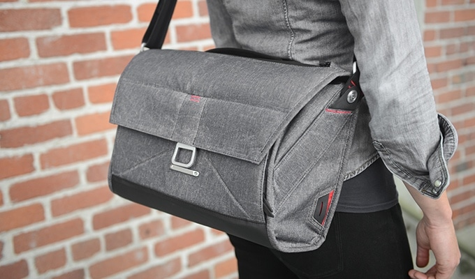 The Everyday Messenger from Peak Design makes an excellent personal item.