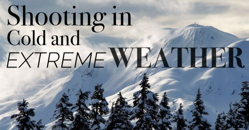 Cold Weather Photography and Extreme Conditions