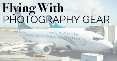 Travel Tips – Flying with Photography Gear