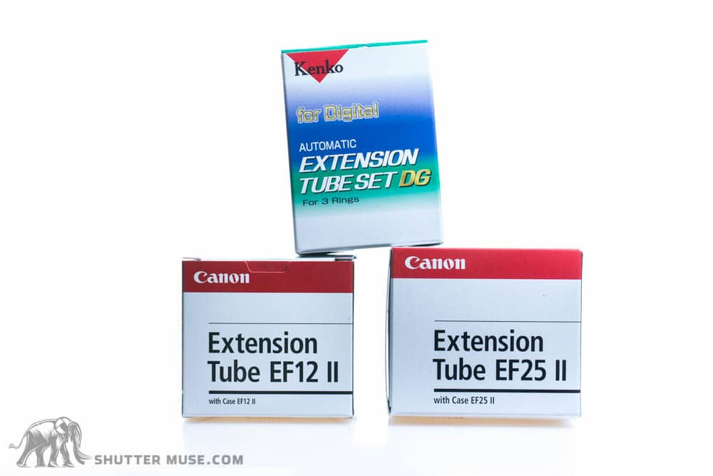 Canon vs kenko extension tubes the canon ef12 ii sells for about 80 and the canon ef25 ii sells for about 135 which gives you a combined price of 215 the set of three kenko extension fandeluxe Choice Image