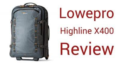Lowepro Highline RL x400 Travel Roller Bag Review