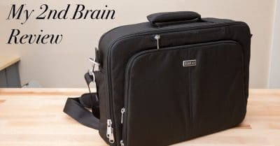 "Think Tank ""My 2nd Brain"" Laptop Bag Review"