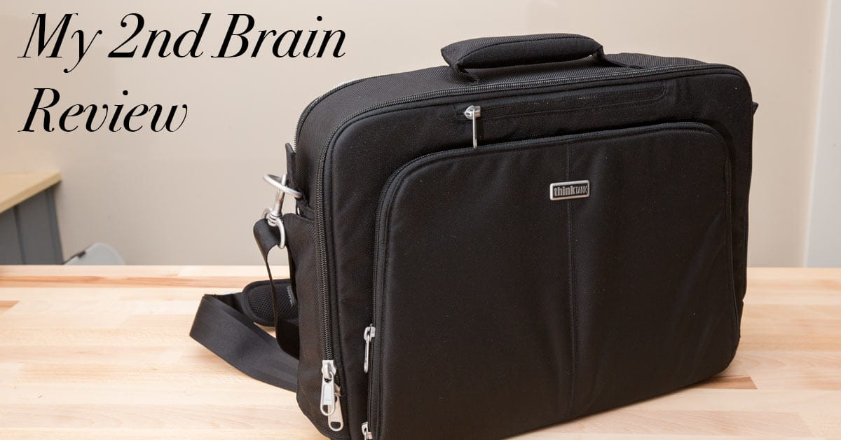 """Think Tank """"My 2nd Brain"""" Laptop Bag Review"""
