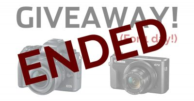 Win a Canon EOS M5 Kit and G7X Mark II – 1 DAY ONLY
