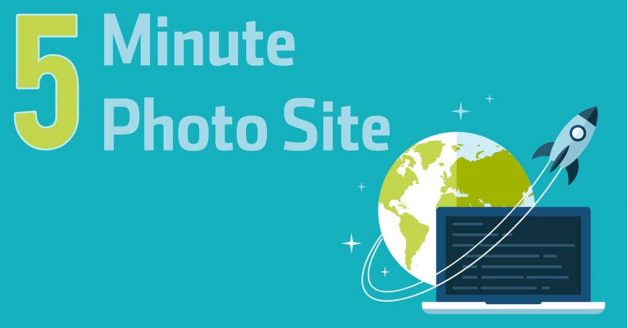How to Create a Photography Website in Less Than 5 Minutes