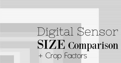 Common Digital Sensor Sizes and Crop Factors
