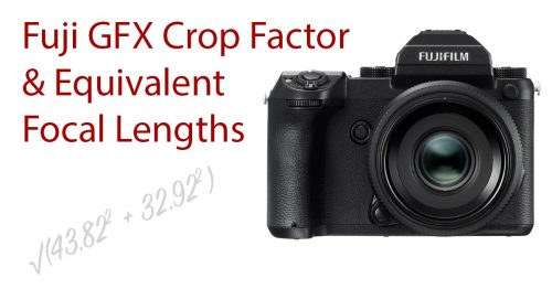 Hasselblad X System Crop Factor and XCD Lens Full Frame