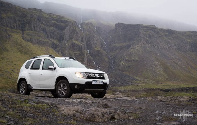 4x4 car in Iceland