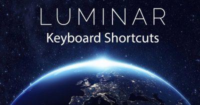 Luminar Keyboard Shortcut Guide