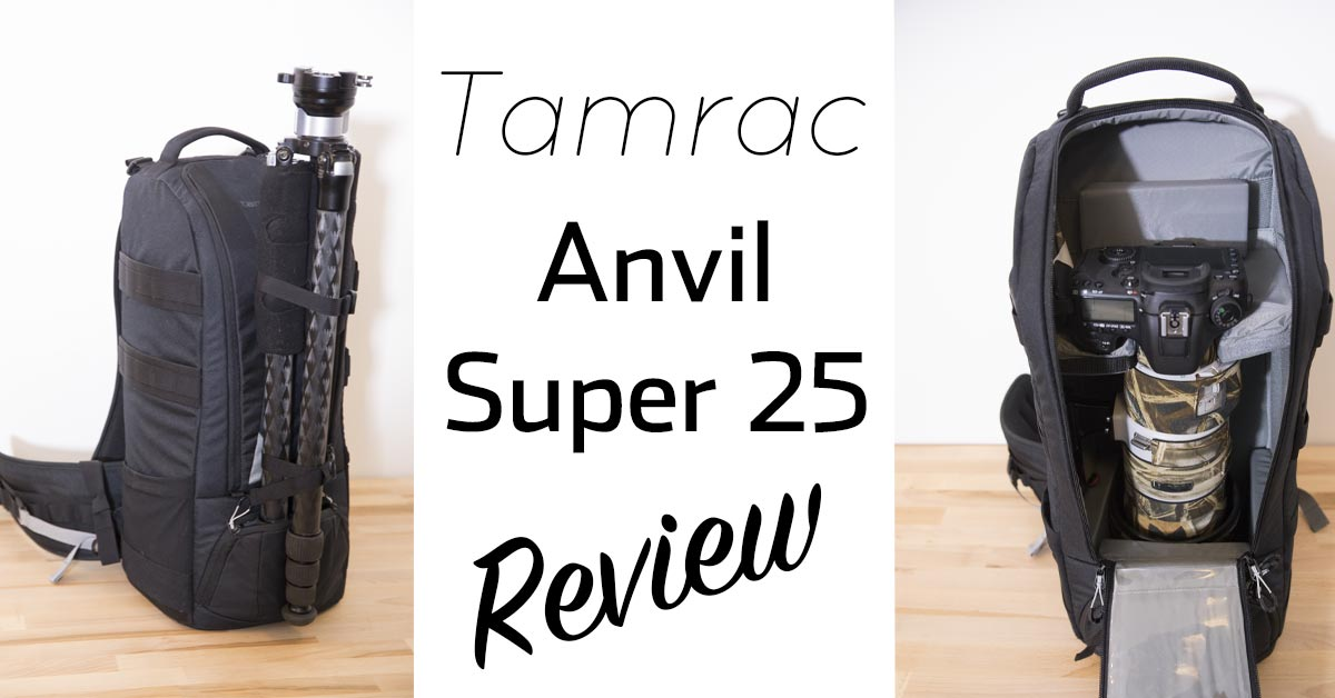 Tamrac Anvil Super 25 Super Telephoto Backpack Review