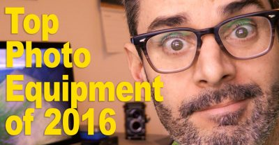 My Top Three Pieces of Photo Gear for 2016