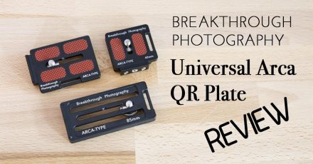 Breakthrough Photography Universal Arca Quick Release Plate Review