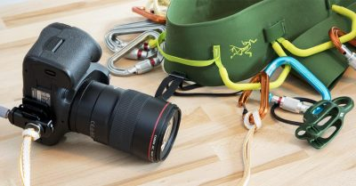 Creating the Ultimate Camera Tether for Climbing and Aerial Photography
