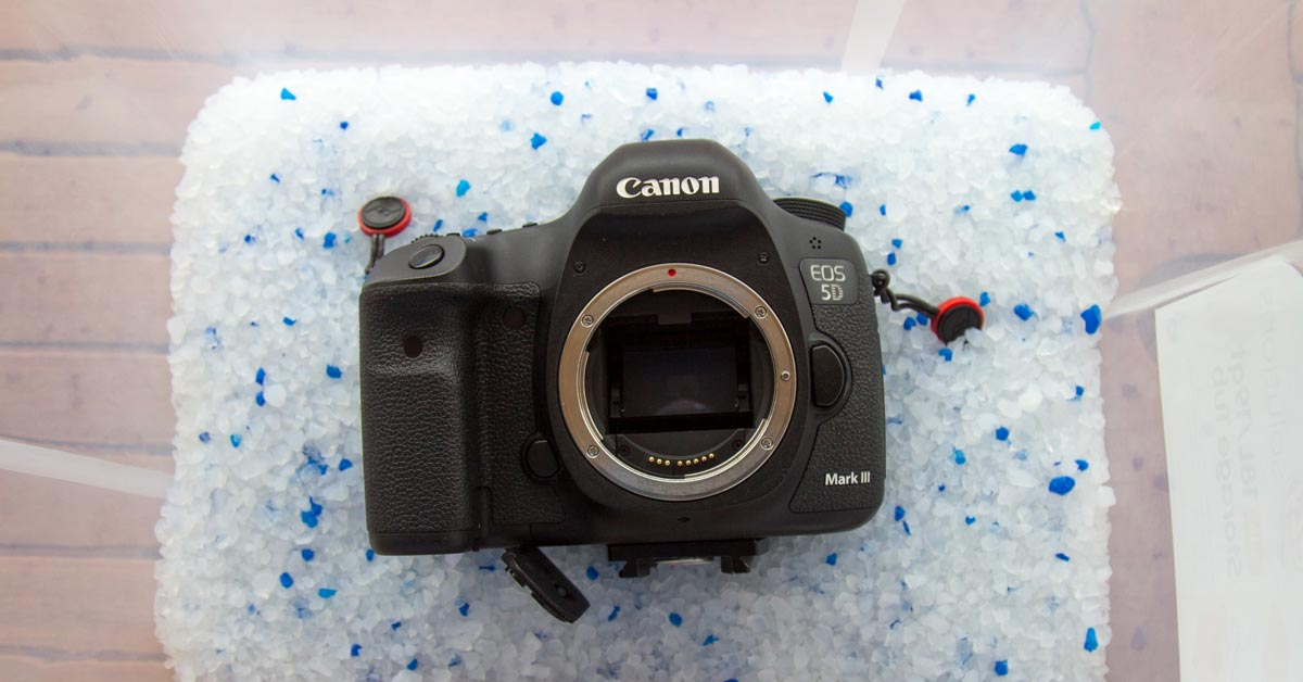 How to Revive a Camera That Got Wet