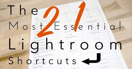 21 Essential Adobe Lightroom Shortcuts – Free Download