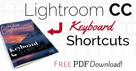 Lightroom CC Keyboard Shortcuts – FREE Download!