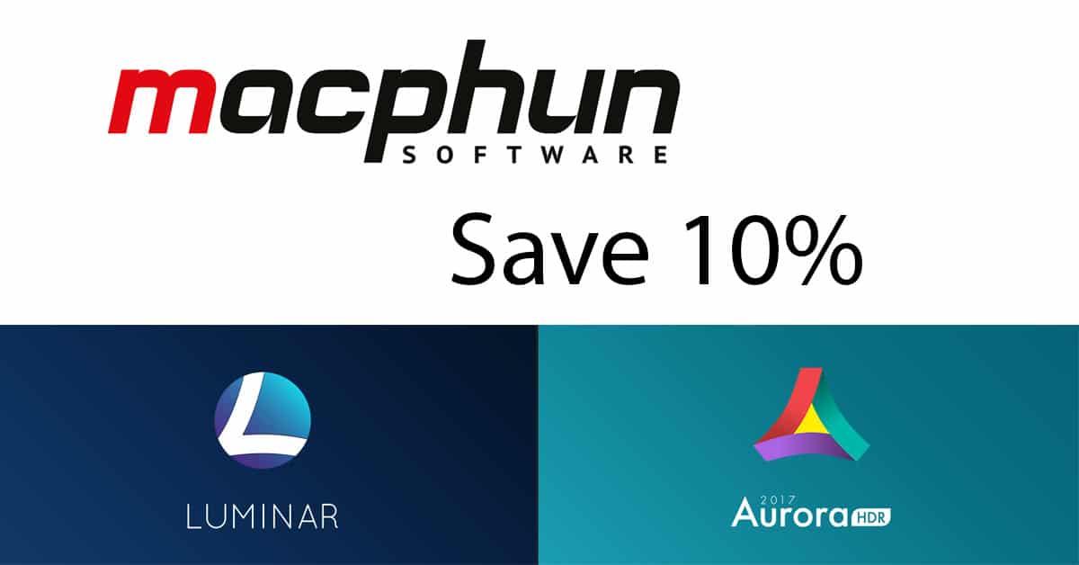 New Macphun Discount Code for Readers
