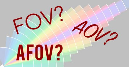 Angle of View Vs. Field of View. Is There a Difference and Does it Even Matter?