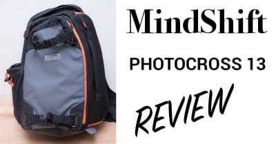 MindShift Gear PhotoCross Sling Bag Review