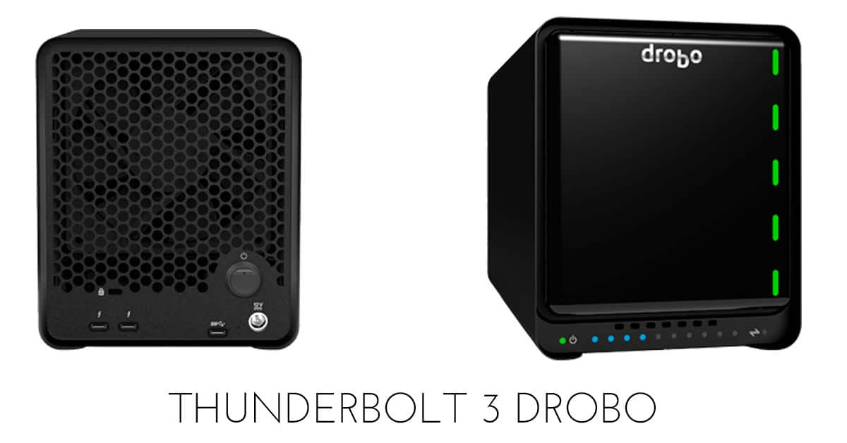Drobo Announced a New Thunderbolt 3 Unit and Here's Why I'm Curious…