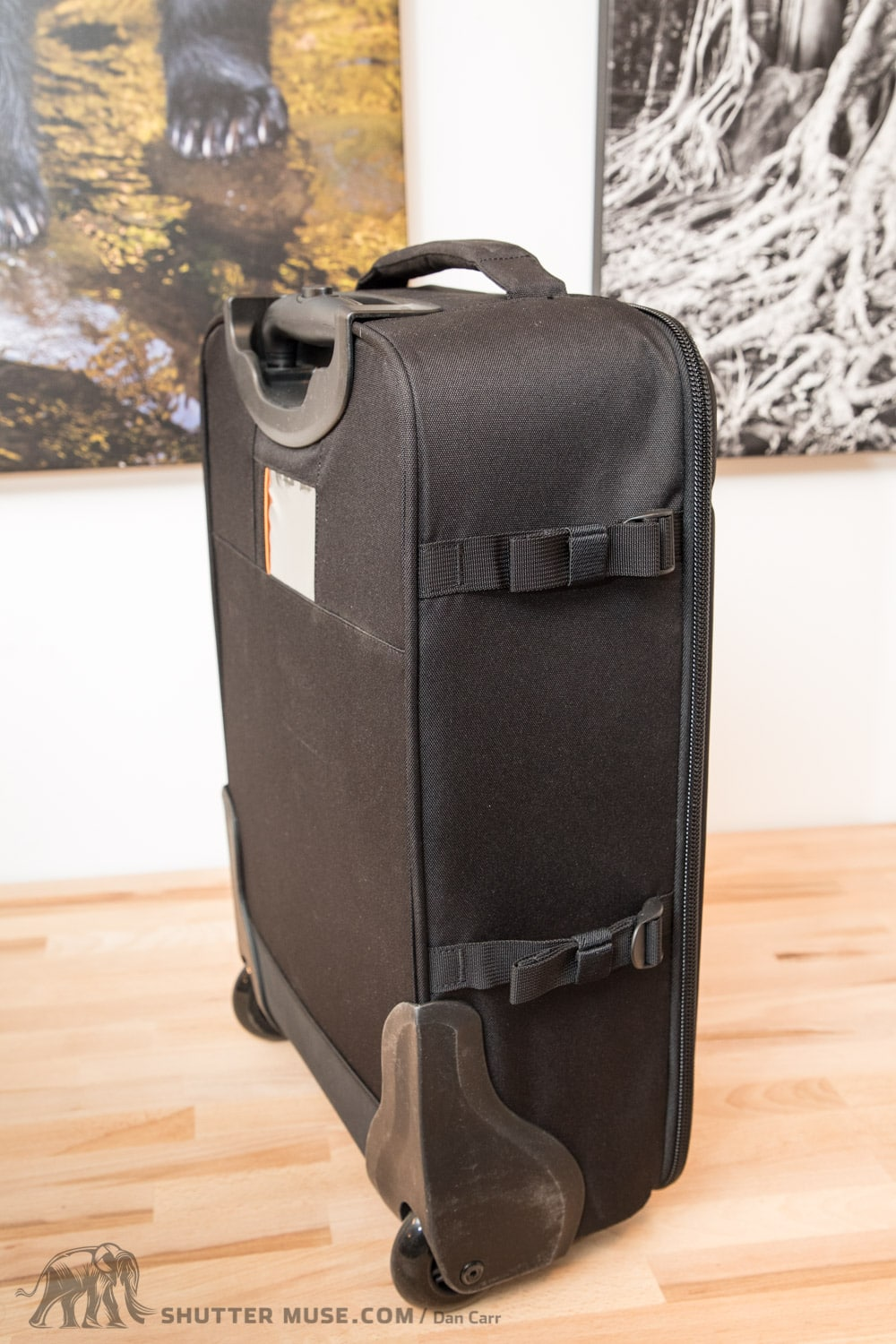Black Lowepro PhotoStream RL 150 Rolling Case for Camera