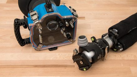 How to Mount an Aquatech Underwater Housing on a Tripod