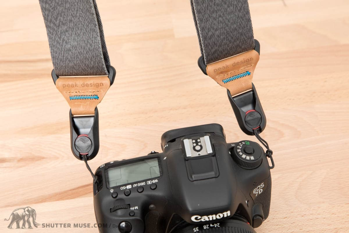 Review Peak Design Slide And Lite Camera Straps 2017 Update Sll Bk 3 Mirrorles Sling Strap Black You Can Still Use This Style Of Carrying If Youd Like To Although Id Urge At Least Give The Anchor Mount A Try I Much Prefer It