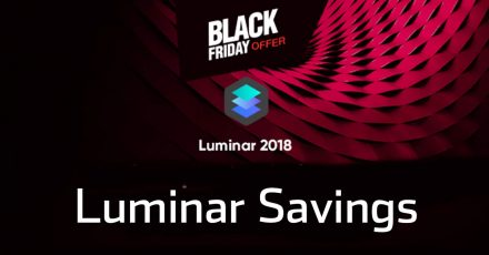 Luminar Savings and Free Bonuses for Black Friday