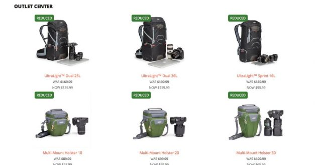 SAVE UP TO 50% AT THINK TANK PHOTO & MINDSHIFT GEAR