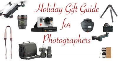 Holiday Gift Guide for Photographers – 2020