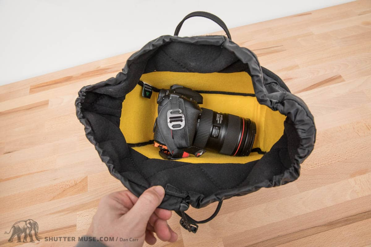 Medium, with a Canon 7D Mark 2 and 24-105 for scale