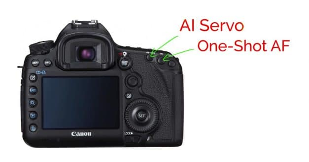 How to Set up Double Back Button AF on Canon Cameras to Get Both Servo and One-Shot Af