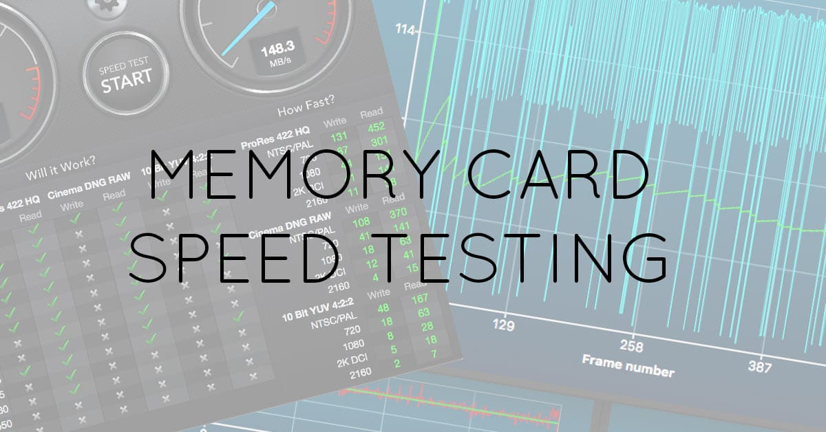 How to Measure Memory Card and Hard Drive Speeds