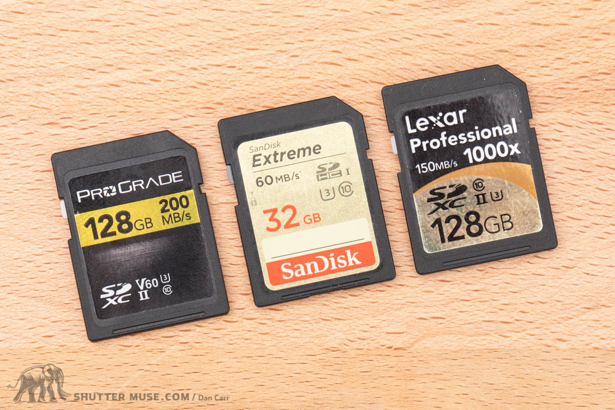 Understanding SD Card Naming, Speeds and Symbols