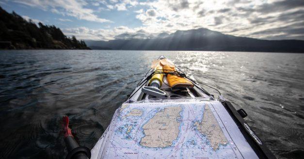 Kayaking Around Bowen Island With a Camera