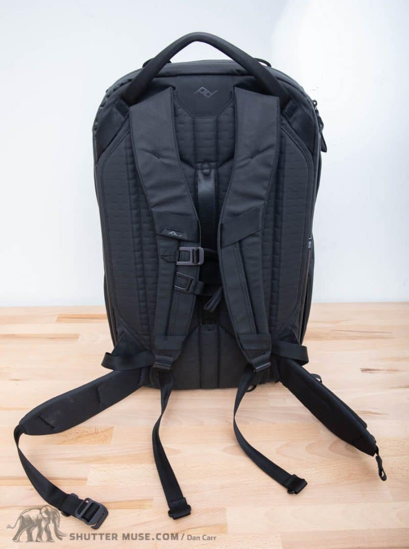 I have a few other bags that allow you to stow the backpack straps for  travel 85960d8f3054a