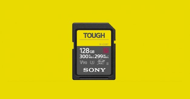 Sony Launches New Series of Tough Waterproof SD Cards