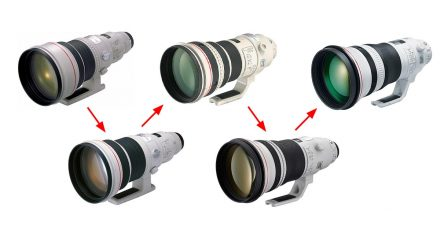 The Evolution of the Canon 400mm f/2.8 Lens