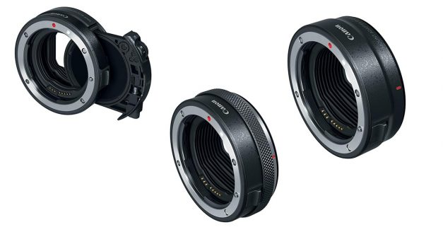 EOS R Adapters for EF Lenses