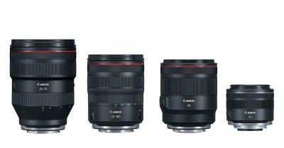 Canon Launches 4 New RF Lenses for Full-Frame Mirrorless!