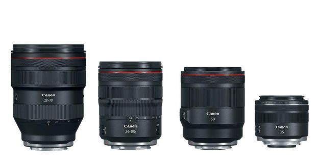 Canon Launches 4 New RF Lenses for Full-Frame Mirrorless!