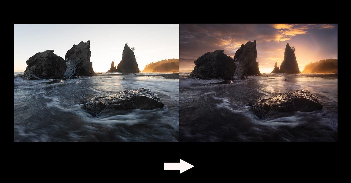 Editing Walkthrough: Olympic National Park Landscape