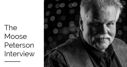 Moose Peterson interview portrait header